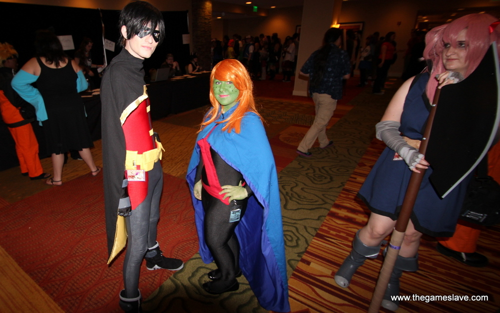 Robin and Ms Martian