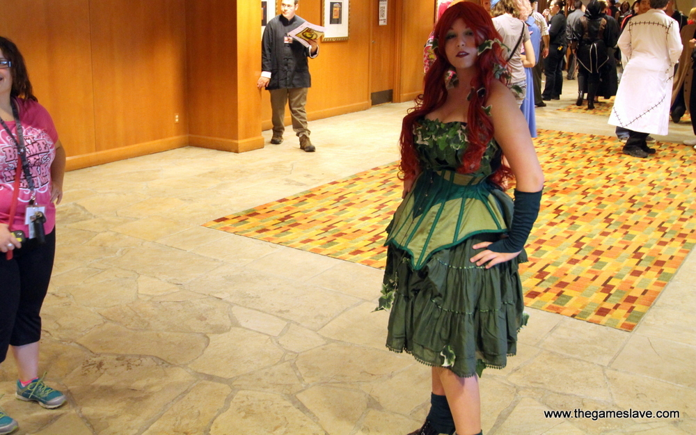 Victorian styled Poison Ivy