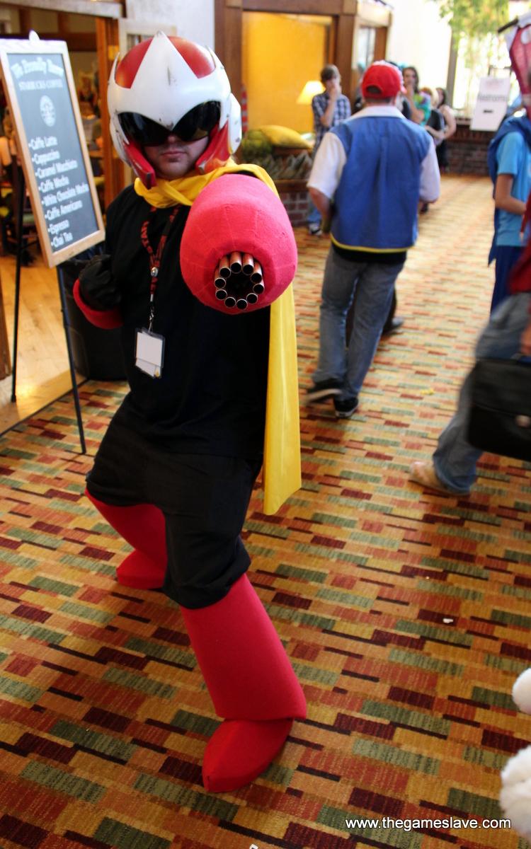 Protoman from Megaman