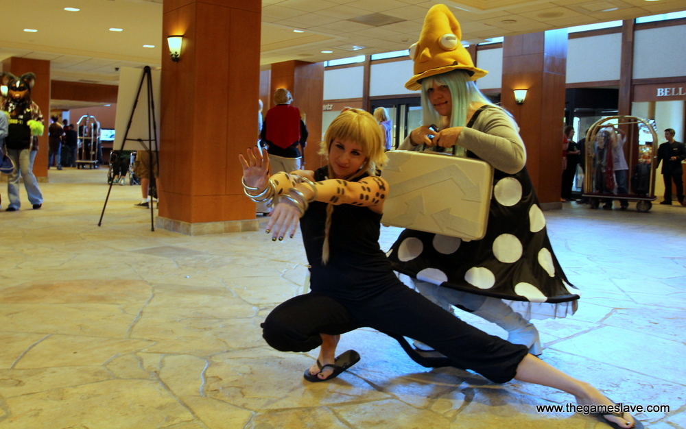 Medusa and Eruka from Soul Eater
