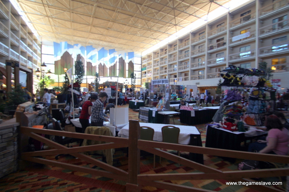 General Shot of Artists' Alley
