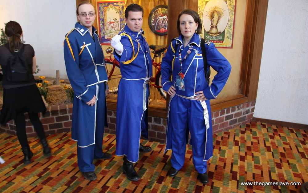 State Alchemists with Roy Mustang from Full Metal Alchemist