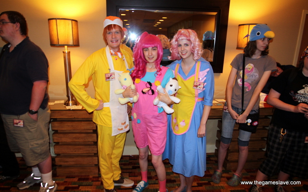 Mr. & Mrs. Cakes & Twins with Pinkie Pie from My Little Ponly: FIM