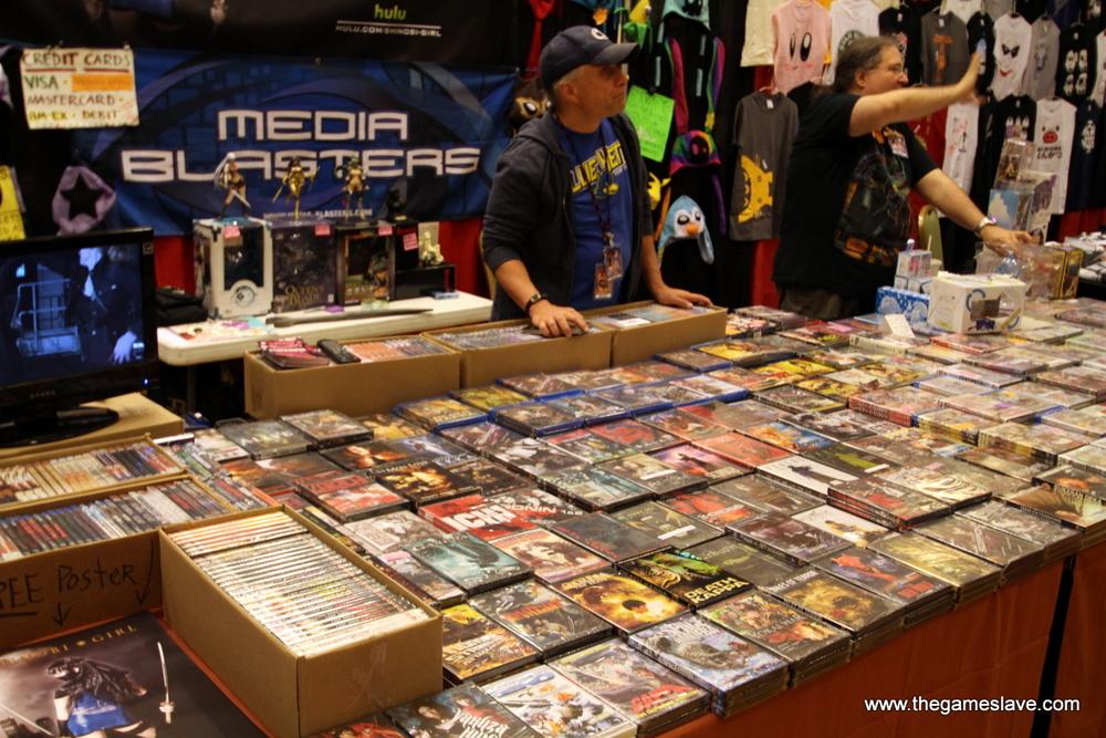 Media Blasters Booth