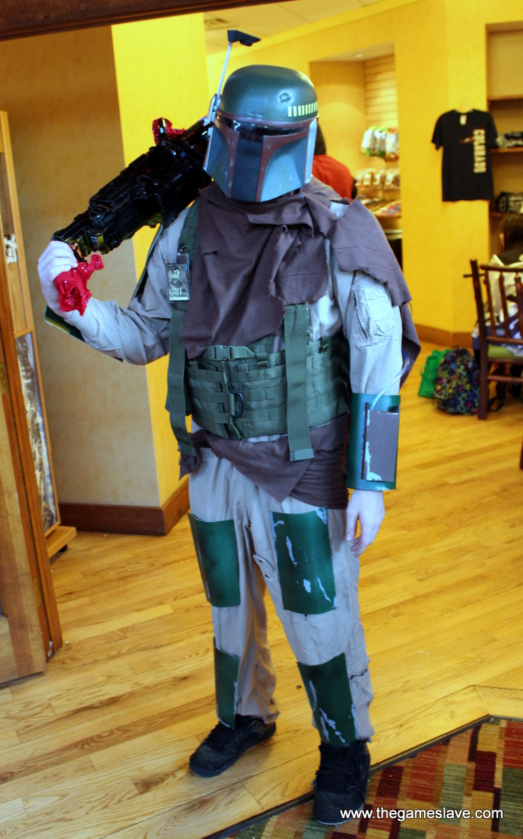 Boba Fett from Star Wars