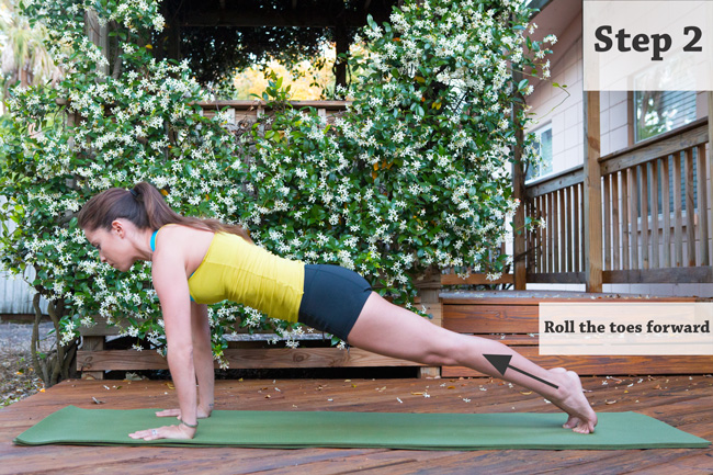 Tips for Chaturanga