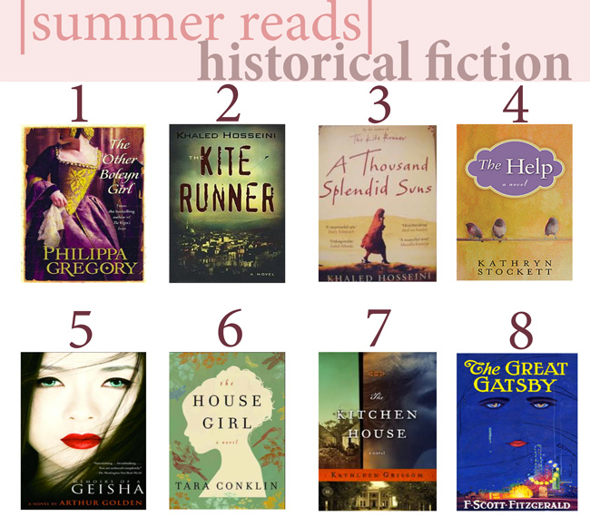 Favorite summer reads