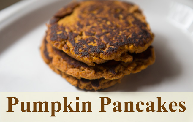 Pumpkin pancakes - pin it!