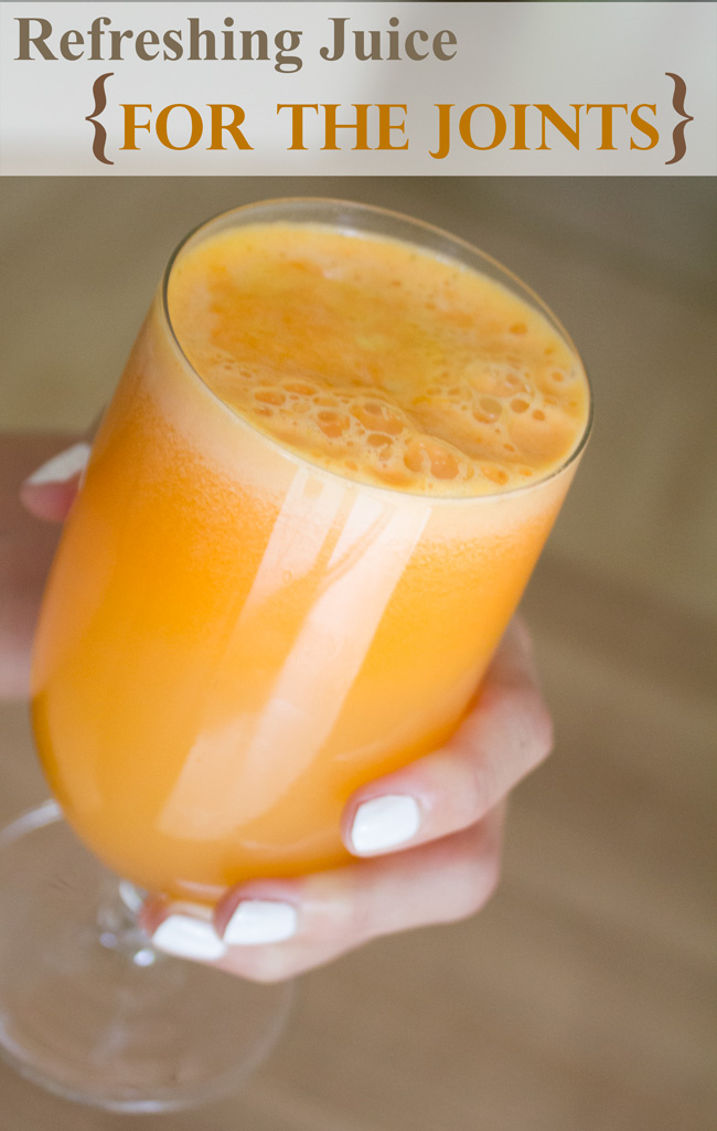 Juice for healthy joints