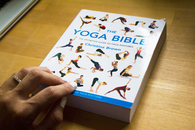 Pin It! The one book I recommend for yoga poses!