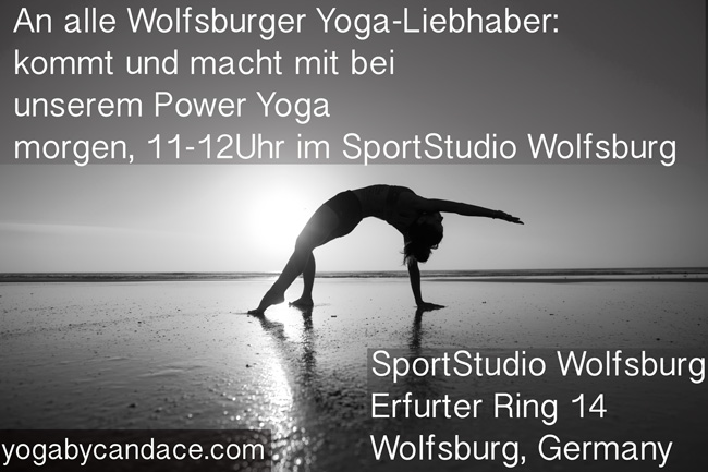 New yoga class in Wolfsburg, Germany