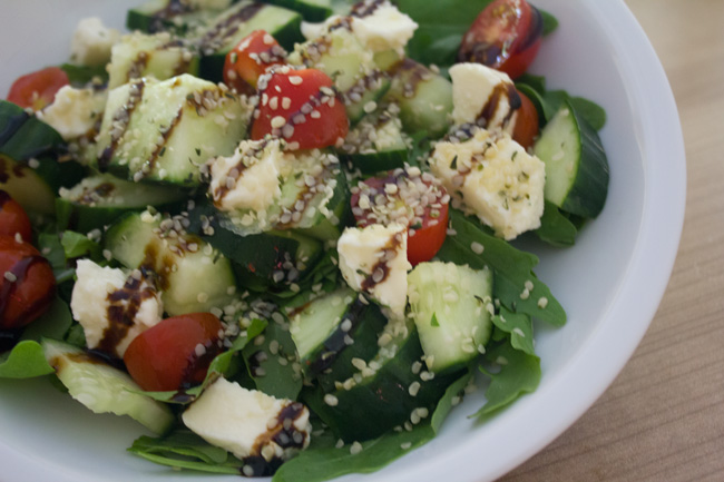 Perfect and easy summer salad