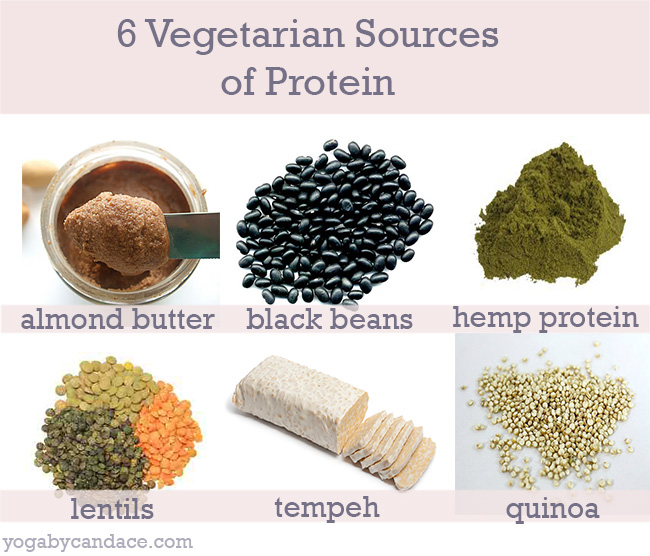 Pin it! 6 vegetarian sources of protein