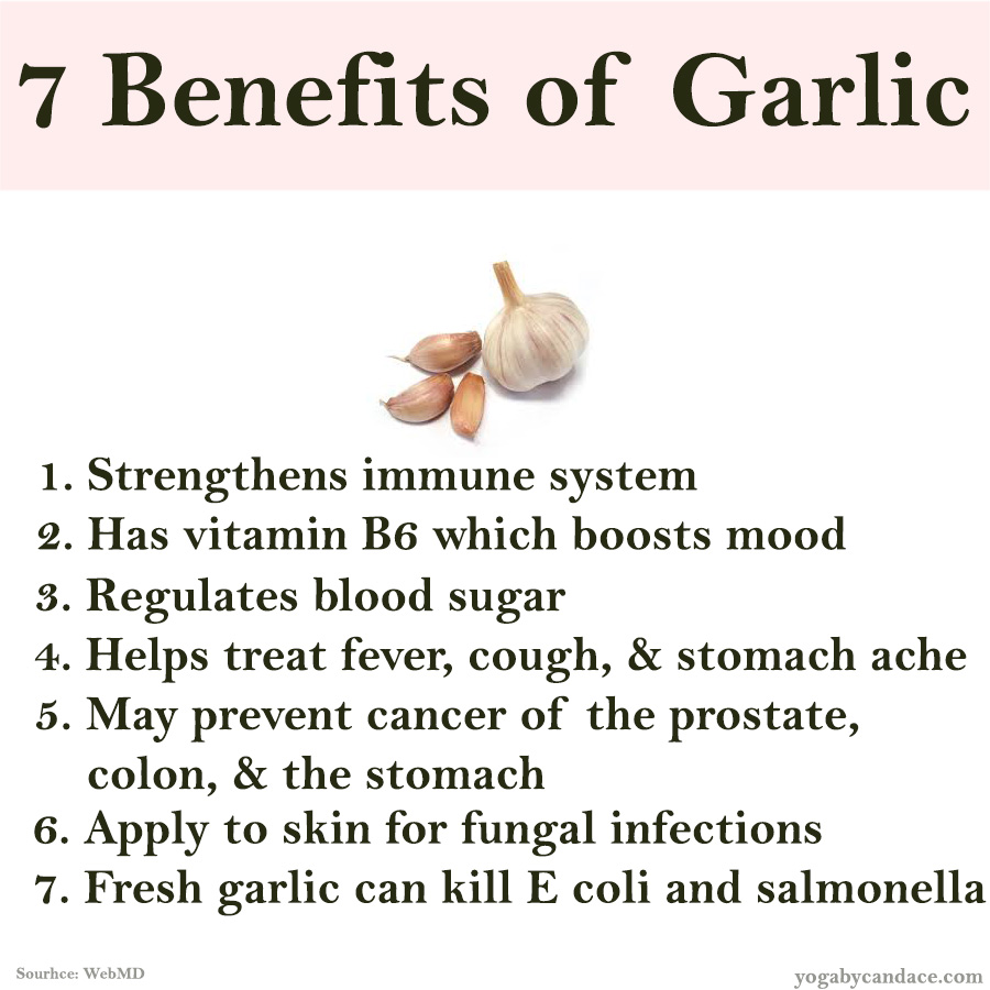 Pin it! 7 Benefits of Garlic