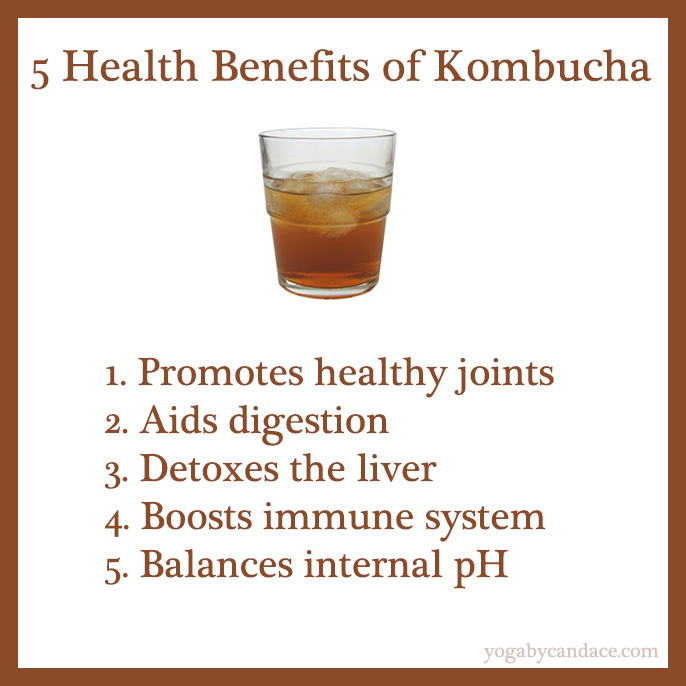 Pin it! 5 health benefits of kombucha.