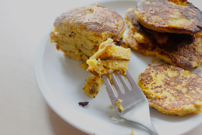 Butternut squash pancake recipe