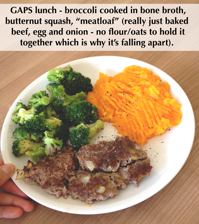GAPS meal