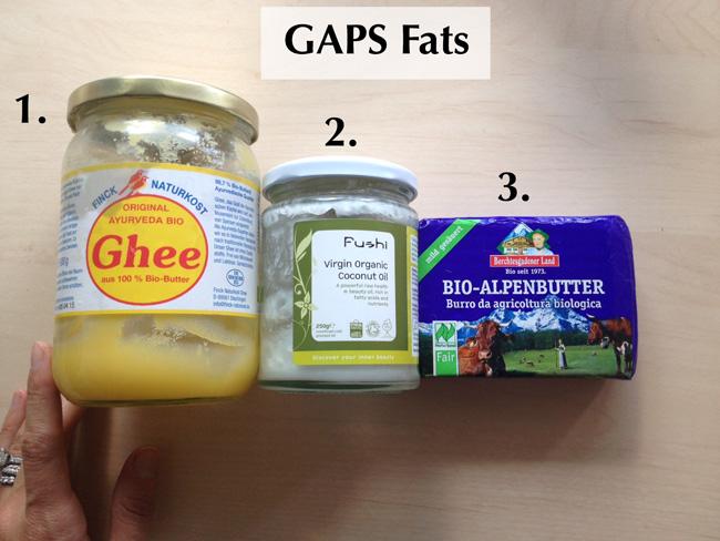 GAPS fats