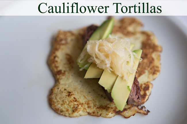 Pin it! GAPS friendly cauliflower tortillas