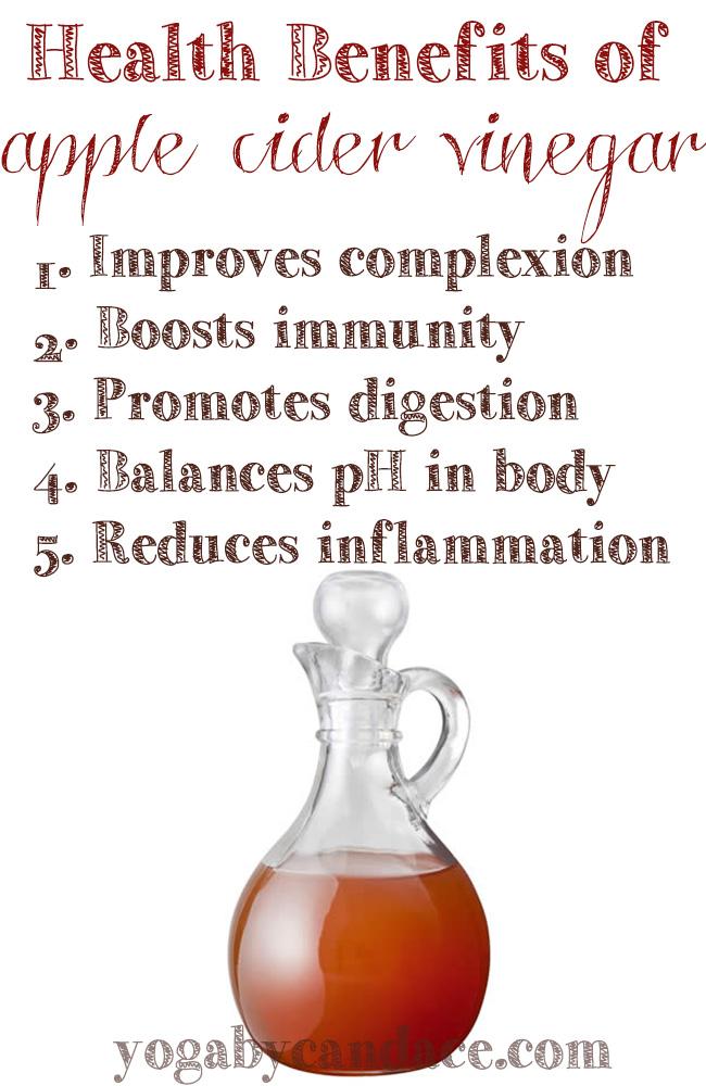 Pin it! 5 Health benefits of apple cider vinegar