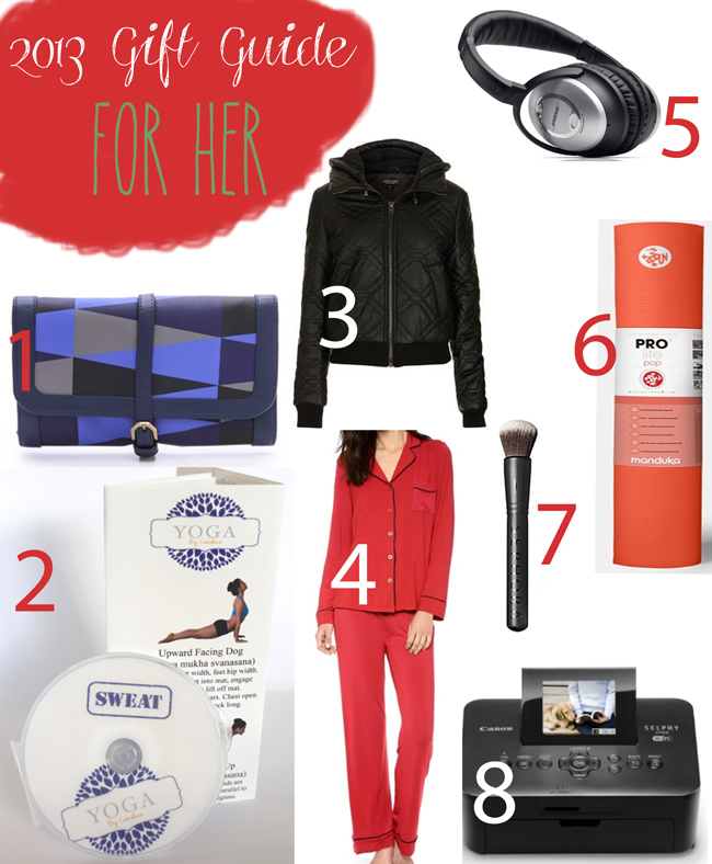 Pin it! 2013 gift guide for her
