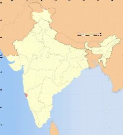 Goa, India. Smallest state in Goa