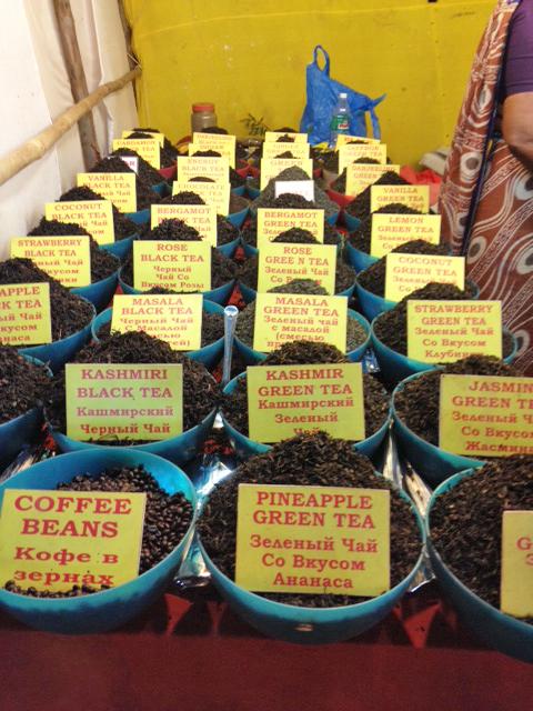 Tea at the night market in Goa