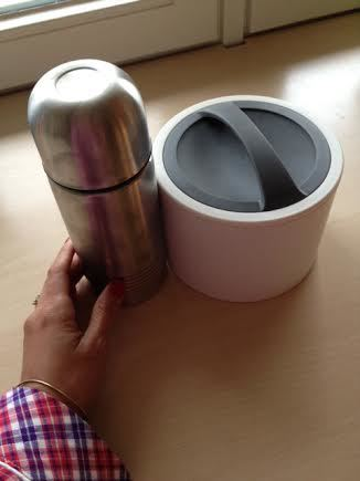 Thermos and food container for GAPS diet