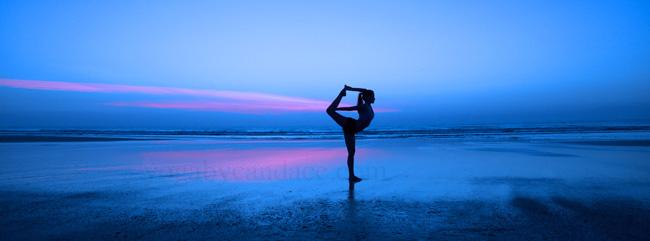 Pin it! Yoga on the beach
