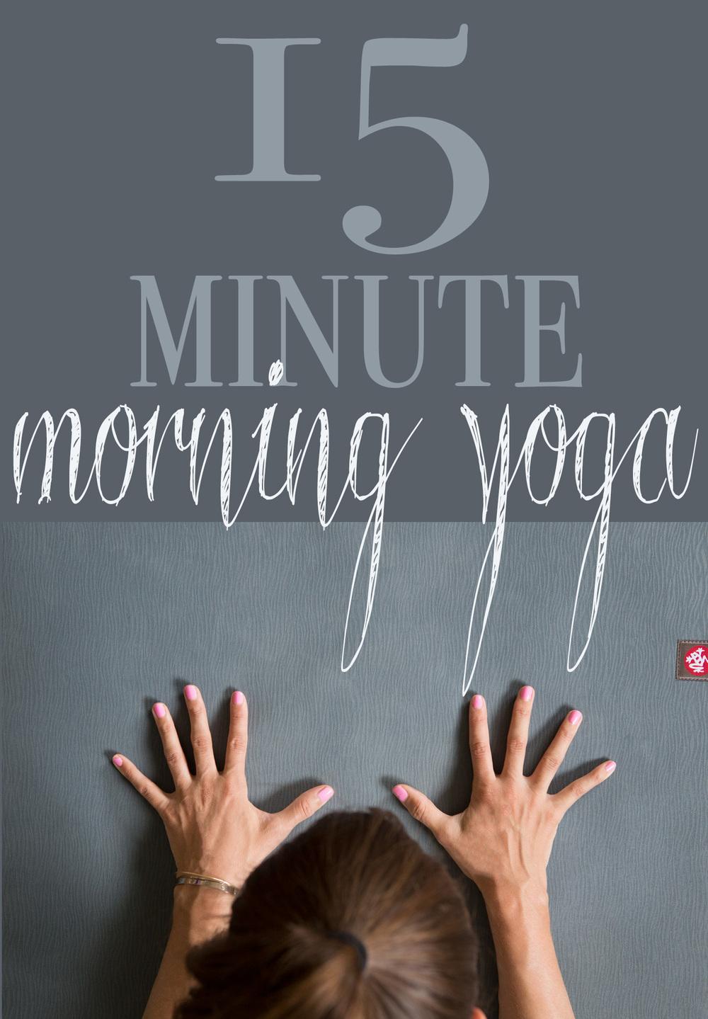 Yoga Video 15 Min Morning Yoga To Wake Up Yogabycandace