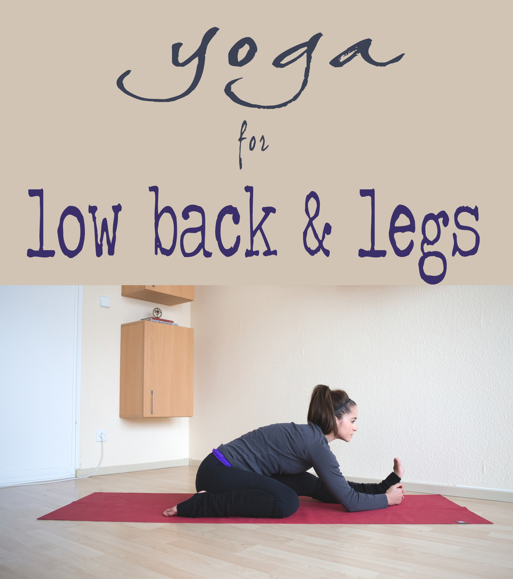 Pin it! Video for low back and legs.