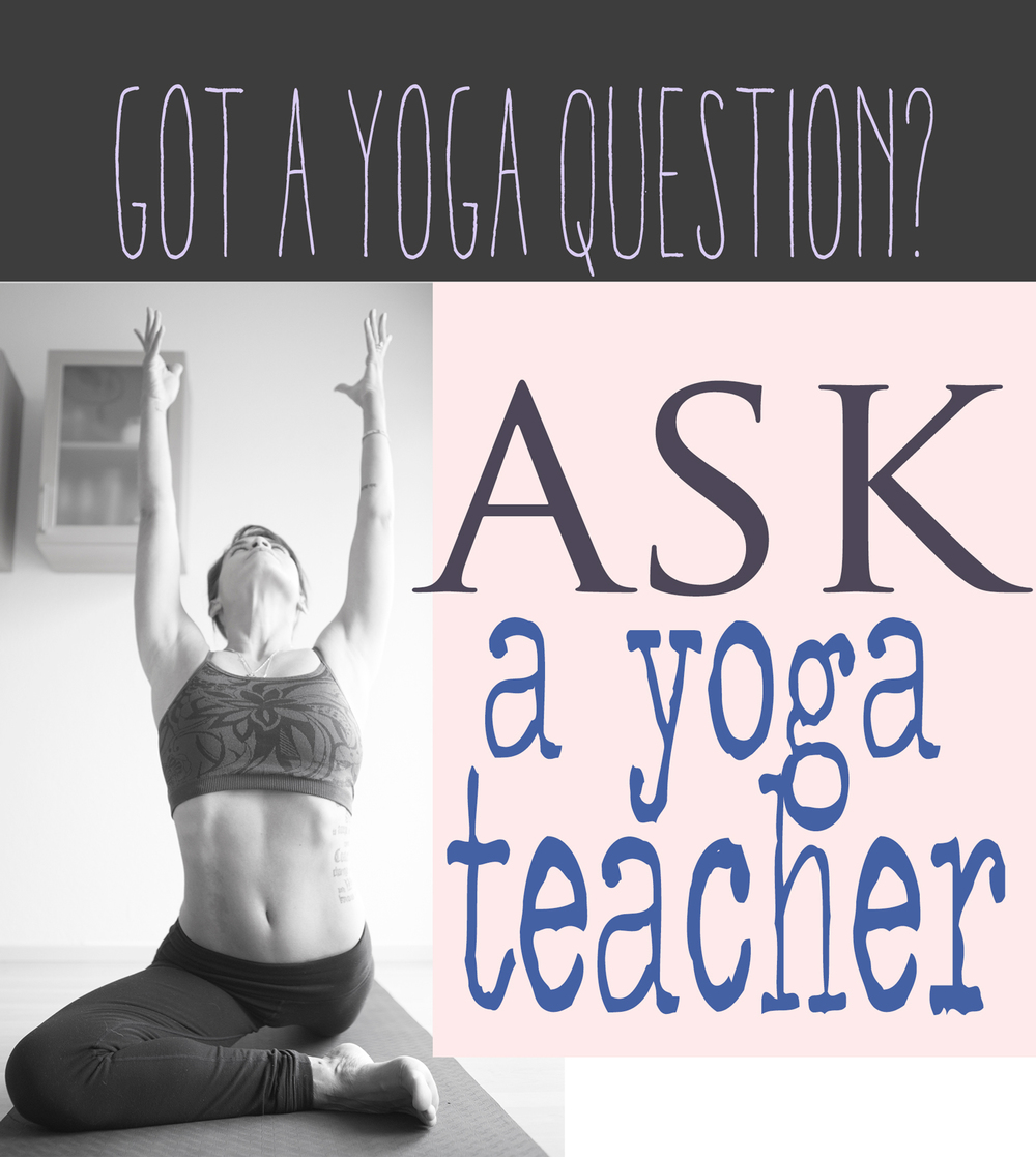 Got a yoga question? Submit it here.  Wearing: Wunder under leggings (similar), Athleta bra (similar). Using Manduka BlackMatPRO