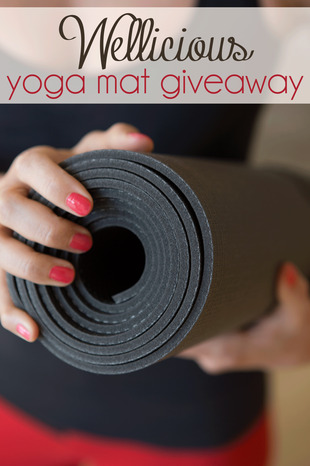 Pin it! A chance to win a Wellicious Divine Mat (value of $139.95)