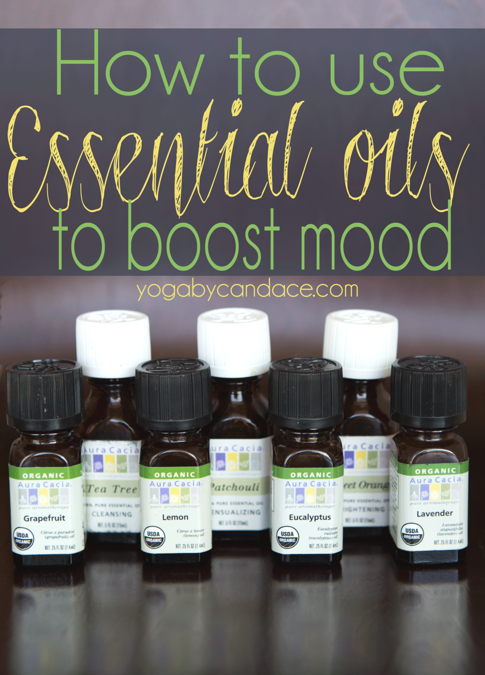 Pin it! How to use essential oils to improve mood
