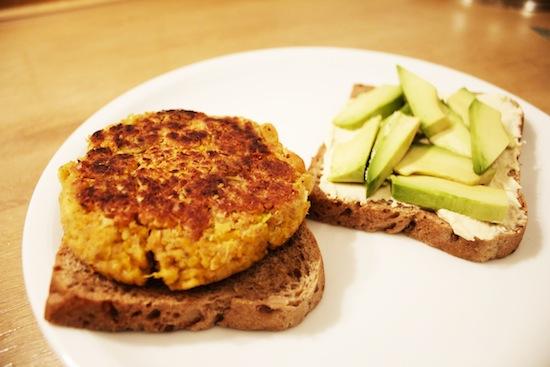 Homemade Veggie Burgers — YOGABYCANDACE
