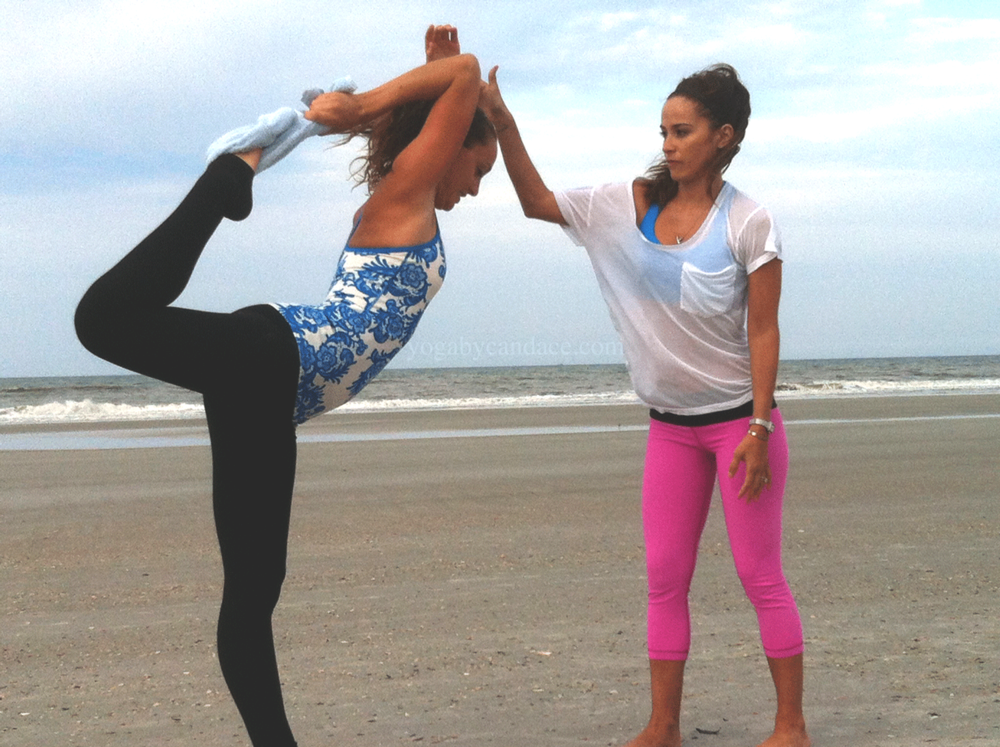 Yoga in Neptune Beach, Florida.
