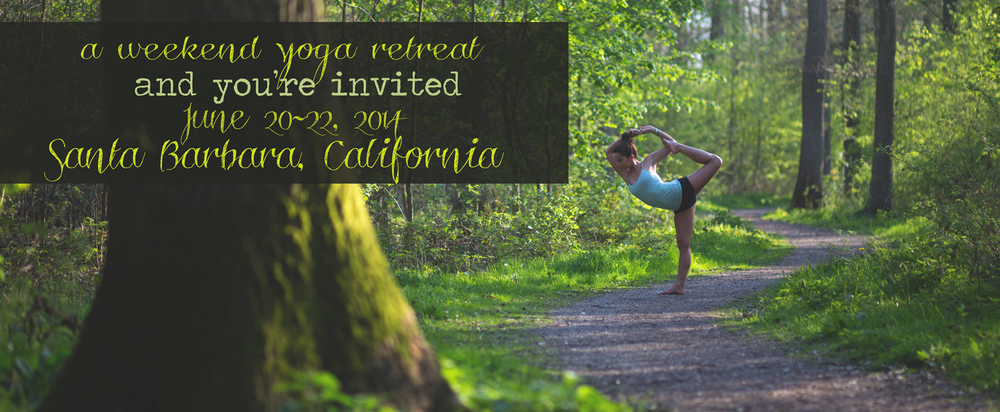 Pin it! A weekend yoga retreat in Santa Barbara