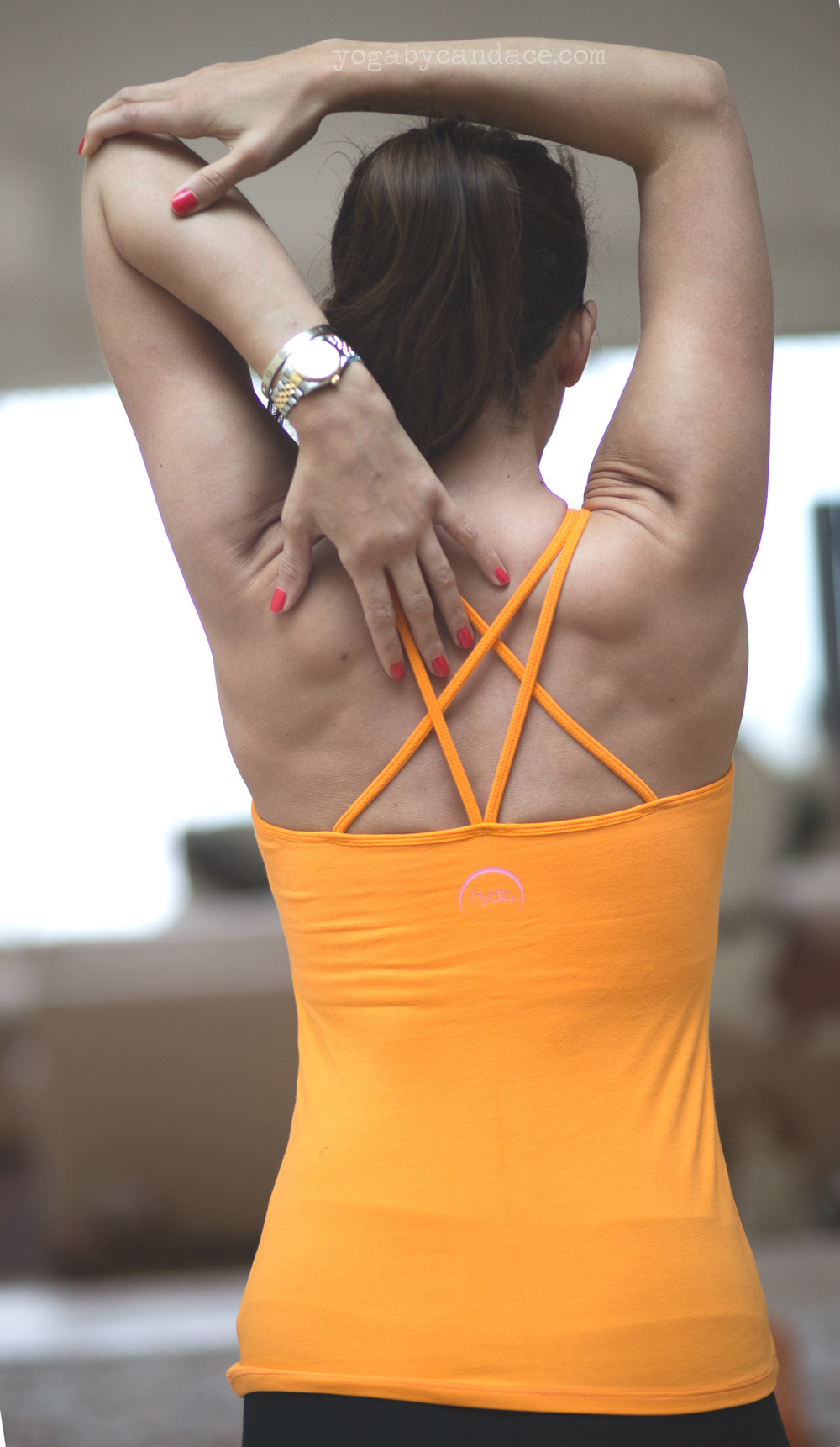 Pin it! Yoga for chronic pain. Wearing: Hyde taylor tank c/o