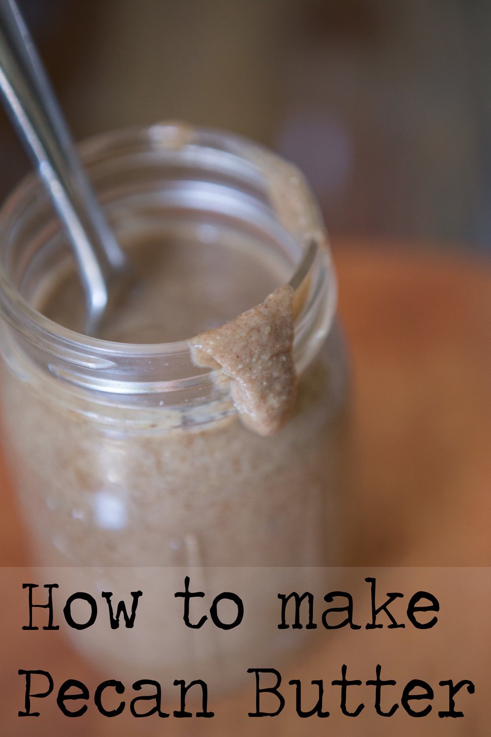 Pin it! How to make pecan butter!