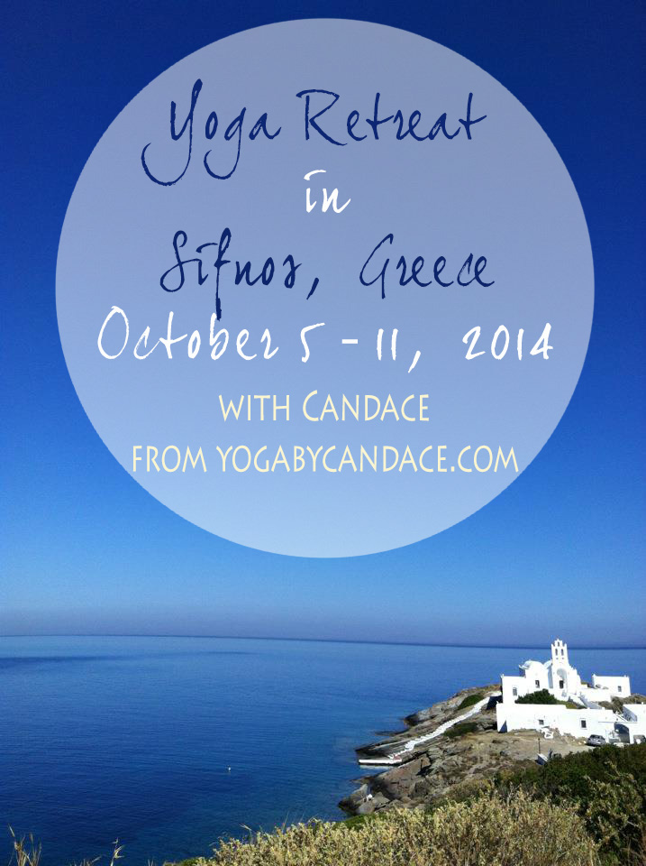 Pin it! A week in beautiful Sifnos, Greece for a yoga retreat!