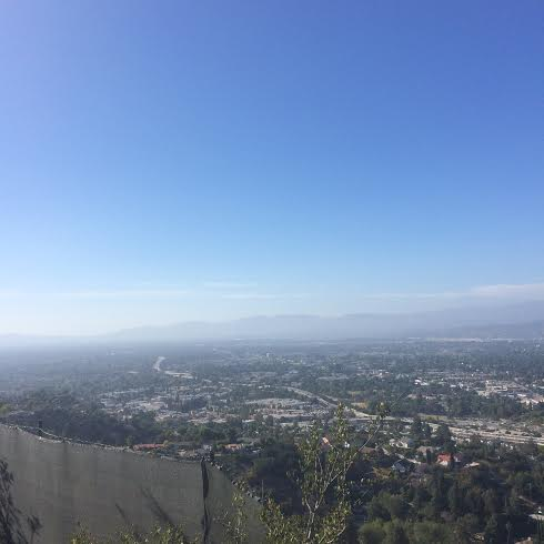 Mulholland Drive view