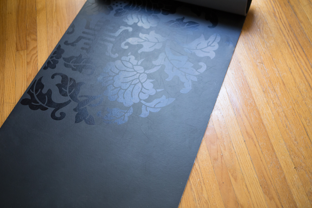 Pin it! Giving away a sol dry grip yoga mat from Gaiam!