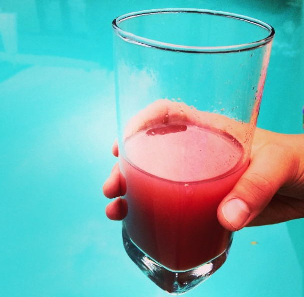 Fresh juice!