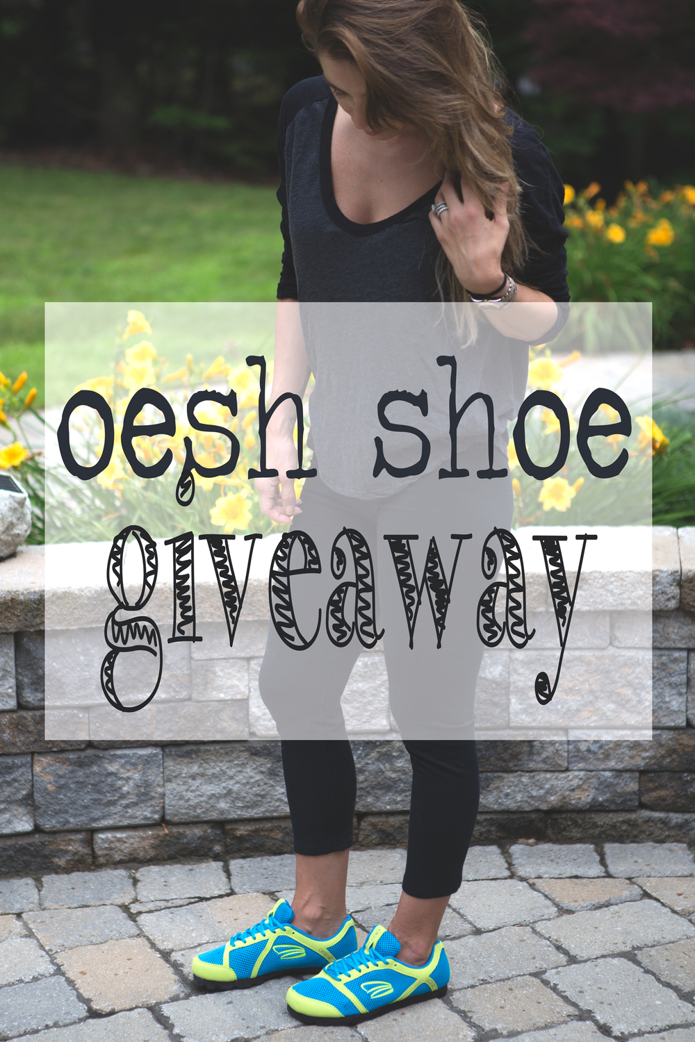 Pin it! Oesh sneaker giveaway