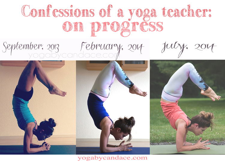 Confessions of a yoga teacher on progress in the practice for Places to do yoga