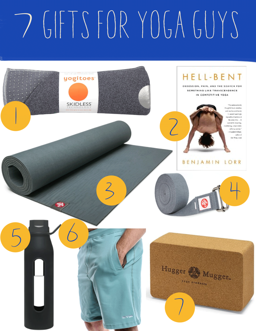 Yoga gifts for guys