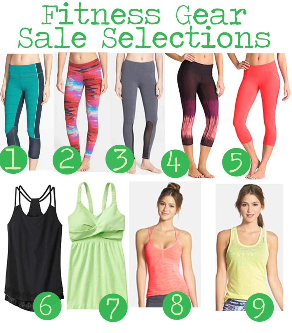 Pin it! Activewear sale selections