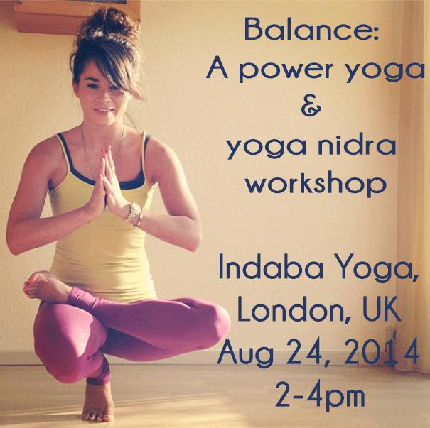 Power Yoga & Yoga Nidra workshop in London
