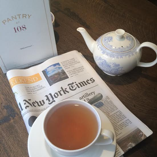 Tea and the International New York Times