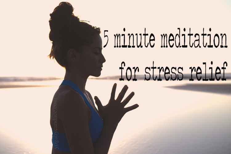 Pin it! A 5 minute guided meditation for stress relief